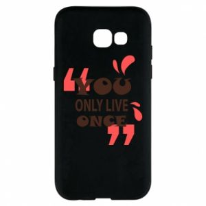 Phone case for Samsung A5 2017 YOLO