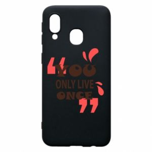 Phone case for Samsung A40 YOLO