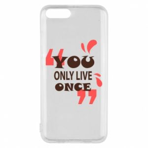 Phone case for Xiaomi Mi6 YOLO