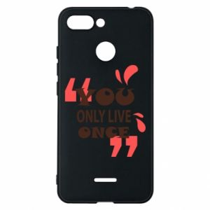 Phone case for Xiaomi Redmi 6 YOLO