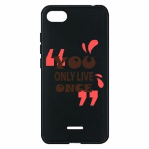 Phone case for Xiaomi Redmi 6A YOLO