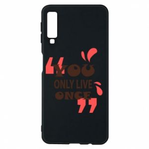 Phone case for Samsung A7 2018 YOLO