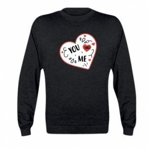 Kid's sweatshirt You and me