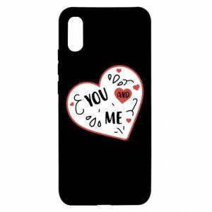 Xiaomi Redmi 9a Case You and me