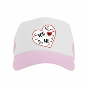 Kid's Trucker Hat You and me
