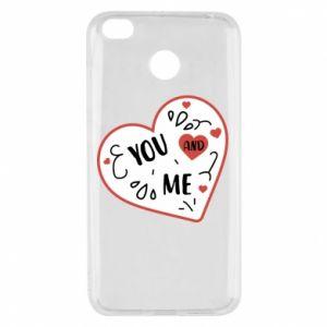 Xiaomi Redmi 4X Case You and me