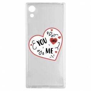 Sony Xperia XA1 Case You and me