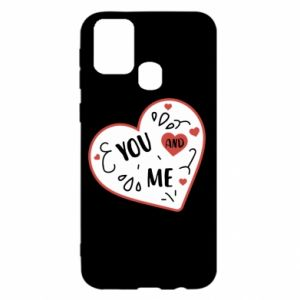 Samsung M31 Case You and me