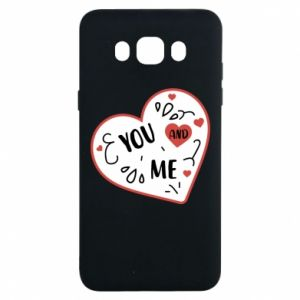 Samsung J7 2016 Case You and me