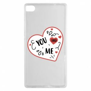 Huawei P8 Case You and me