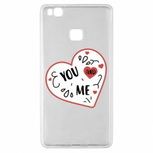Huawei P9 Lite Case You and me