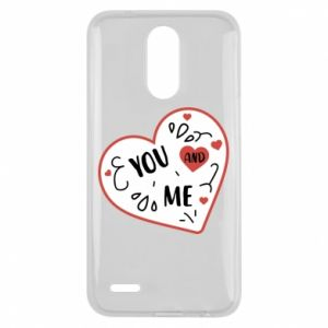 Lg K10 2017 Case You and me