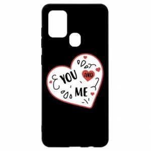 Samsung A21s Case You and me