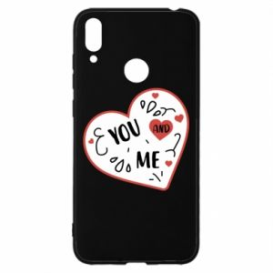 Huawei Y7 2019 Case You and me