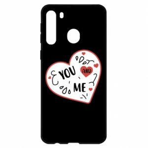 Samsung A21 Case You and me