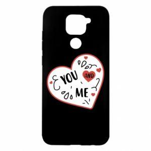 Xiaomi Redmi Note 9 / Redmi 10X case % print% You and me