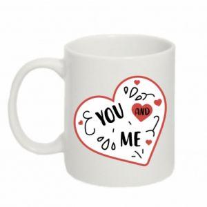 Mug 330ml You and me