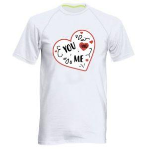 Męska koszulka sportowa You and me