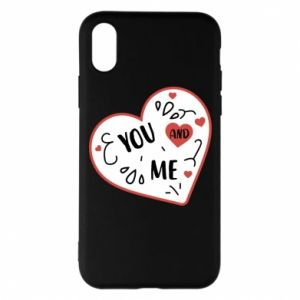 iPhone X/Xs Case You and me