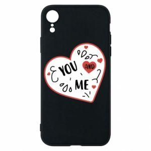 Etui na iPhone XR You and me