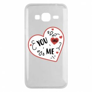 Samsung J3 2016 Case You and me
