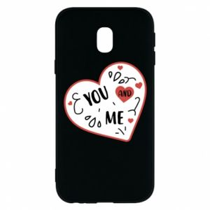 Samsung J3 2017 Case You and me