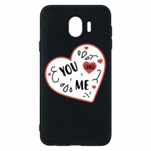 Samsung J4 Case You and me