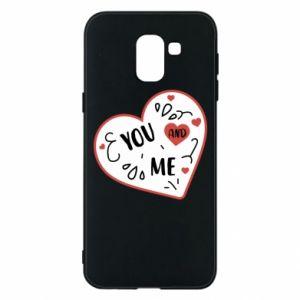 Etui na Samsung J6 You and me