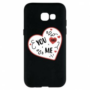 Samsung A5 2017 Case You and me