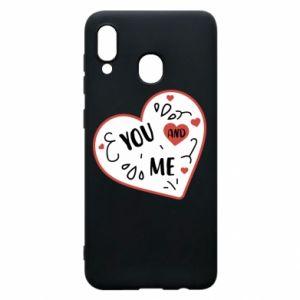 Etui na Samsung A20 You and me