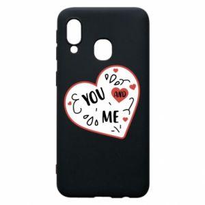 Etui na Samsung A40 You and me