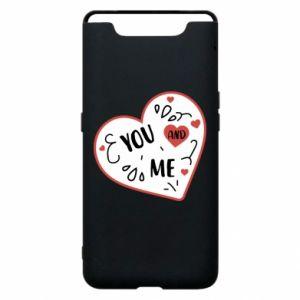Etui na Samsung A80 You and me
