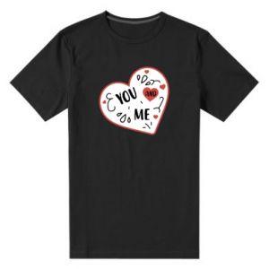 Męska premium koszulka You and me