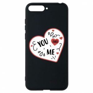 Huawei Y6 2018 Case You and me