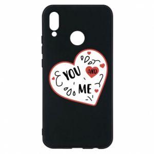 Etui na Huawei P20 Lite You and me