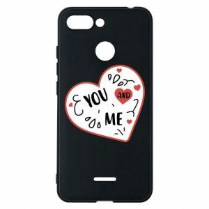 Etui na Xiaomi Redmi 6 You and me