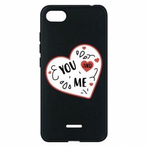 Etui na Xiaomi Redmi 6A You and me