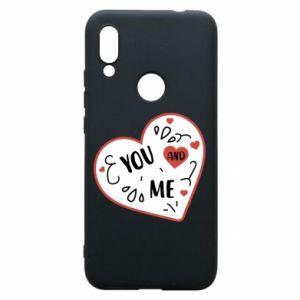 Etui na Xiaomi Redmi 7 You and me