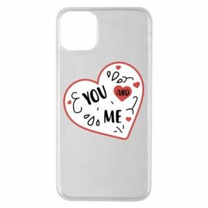 Etui na iPhone 11 Pro Max You and me