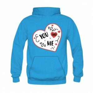 Kid's hoodie You and me