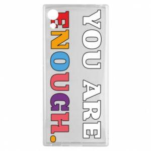 Etui na Sony Xperia XA1 You are enough.