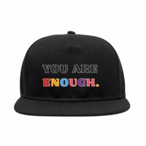 Snapback You are enough.
