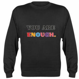 Bluza (raglan) You are enough.