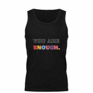 Męska koszulka You are enough.