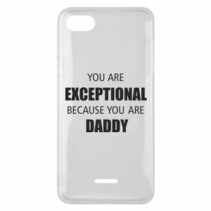 Etui na Xiaomi Redmi 6A You are exclusive because you are dad
