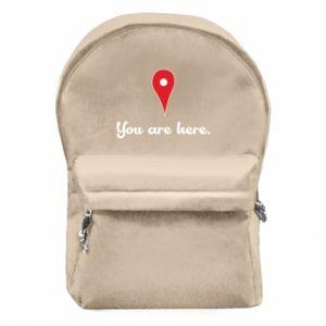 Plecak z przednią kieszenią You are here