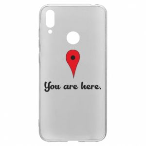 Huawei Y7 2019 Case You are here