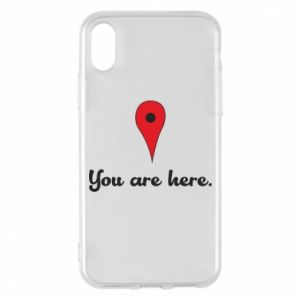 Etui na iPhone X/Xs You are here