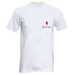Men's sports t-shirt You are here