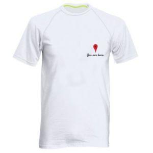 Męska koszulka sportowa You are here
